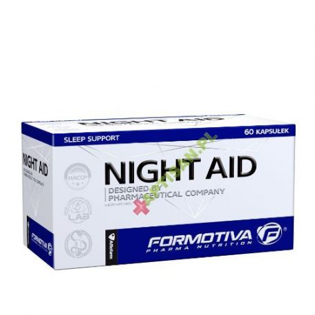 FORMOTIVA * Night Aid * designed by pharmaceutical company * 60 kapsułek
