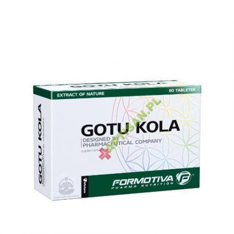 FORMOTIVA * Gotu kola * extract of nature * 60 tabletek
