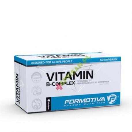 FORMOTIVA * Vitamin B-Complex * designed for active people * 60 kapsułek