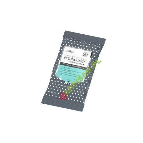 L Biotica -chusteczki peelingujące z mikrowypustkami* 15 sztuk
