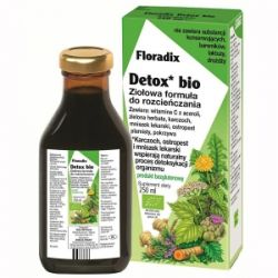 Floradix Detox Bio - tonik * 250 ml