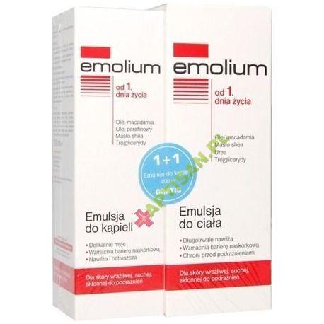Pharmaceris Emotopic ZESTAW - Emulsja Do Ciała 200 ml + Emulsja Do Kąpieli 200 ml