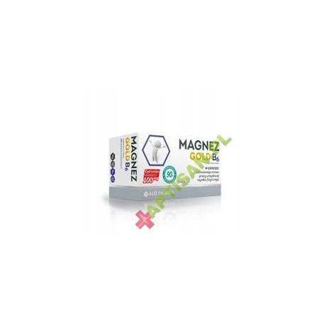 Magnez Gold B6 * 100 mg * 50 tabletek