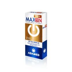 MAXON FORTE * Sildenafil - 50 mg * 2 tabletki powlekane