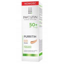 Iwostin Purritin * maskujący krem BB SPF 50 * 30 ml