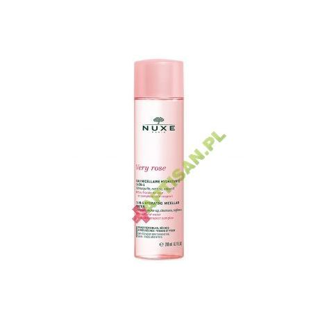 Nuxe Very Rose* Łagodząca woda micelarna 3 w 1 * 200 ml