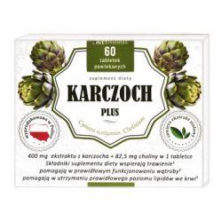 Karczoch Plus * 60 tabletek