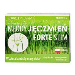 Młody Jęczmień Forte Slim * 60 tabletek