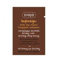Ziaja Cupuacu * samoopalająca chusteczka do twarzy* 1 sztuka