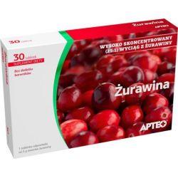 Apteo - Żurawina * 30 tabletek