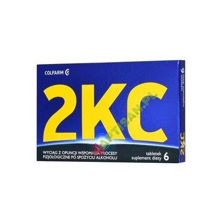2 KC tabletki * 6 sztuk