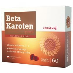 Beta Karoten Plus * 60 kapsułek
