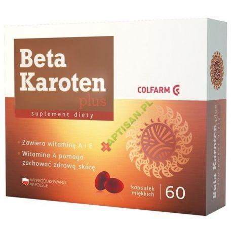 Beta Karoten Plus * 60 kapsułek