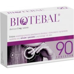 Biotebal* tabl.* 5 mg* 90 tabl.* blistry