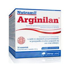 Olimp Arginilan* saszetki o smaku cytrynowym * 14 sztuk
