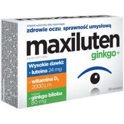 Maxiluten Ginkgo + * 30 tabletek