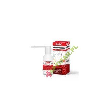 Gardlox Manusilver * Spray do gardła * 30 ml