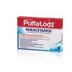 Paracetamol Polfa-Łódź * 10 tabletek