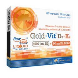 Olimp Gold - Vit D3+K2 * 30 kapsułek