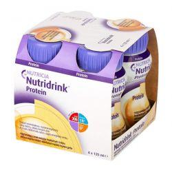 Nutridrink Protein * rozgrzewający smak owoców tropikalnych i imbiru * 4 x 125 ml