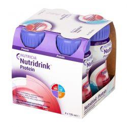 Nutridrink Protein * rześki smak czerwonych owoców * 4 x 125 ml