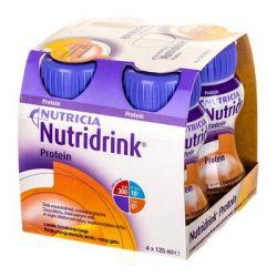 Nutridrink Protein * smaku brzoskwinia-mango * 4 x 125 ml