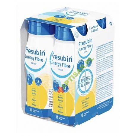Fresubin Fibre Energy Drink * smak bananowy* 4X 200 ml