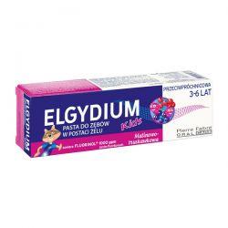 ELGYDIUM KIDS * Pasta do zębów w postaci żelu * malinowo-truskawkowa