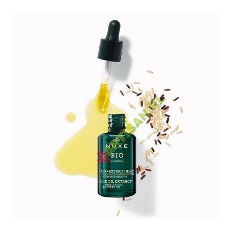 NUXE BIO * Regenerujący olejek odżywczy na noc - olej ryżowy * 30 ml
