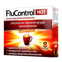 Flucontrol Hot * 8 saszetek