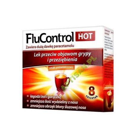 Flucontrol Hot * 8 saszetek