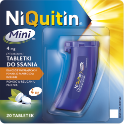 Niquitin Mini do ssania 4 mg * 20 tabletek
