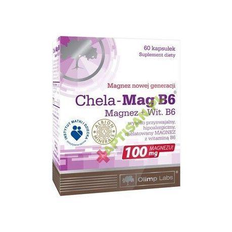 Olimp Chela - Mag B6 * 60 kaps