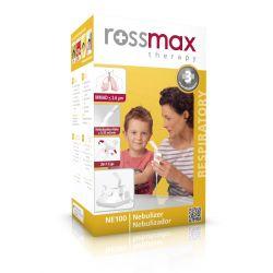 Rossmax - Inhalator tłokowy * ze smoczkiem * 1 sztuka