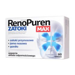 RenoPuren - Zatoki MAX * 60 tabletek