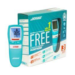 NOVAMED * Termometr bezdotykowy * NOVAMA free - colors aquamarine