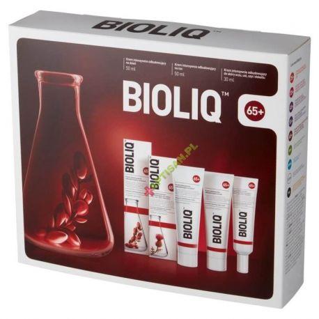 BIOLIQ 65+ * Zestaw * Krem na dzień 50ml + krem na noc 50ml + krem do skóry oczu, ust i dekoltu 30 ml
