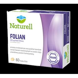 Naturell - Folian * 60 tabletek