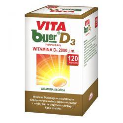 Vita buer D3 * witamina D 2000 j.m. * 120 kapsułek