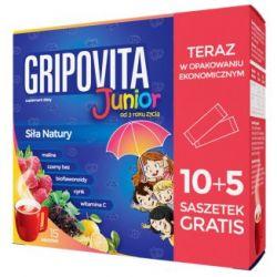 Gripovita Junior * 10+5 saszetek gratis