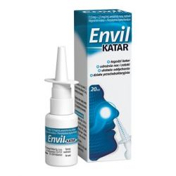 Envil katar * 1,5 mg+2,5 mg/ml * Aerozol do nosa - 20 ml