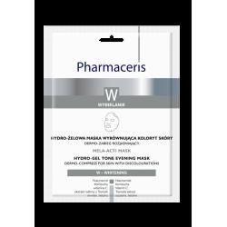 Pharmaceris W MELA-ACTI MASK * Hydro-żelowa maska wyrównująca koloryt skóry * 1 sztuka