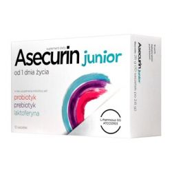 Asecurin Junior * Proszek w saszetkach 2,6 g * 10 sztuk