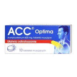 ACC Optima - 600 mg * 10 tabletek musujących