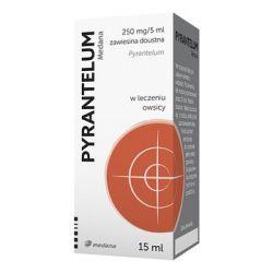 Pyrantelum 250 mg / 5 ml * Zawiesina doustna * 15 ml