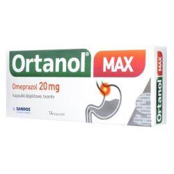Ortanol Max - 20 mg * 14 kapsułek dojelitowych