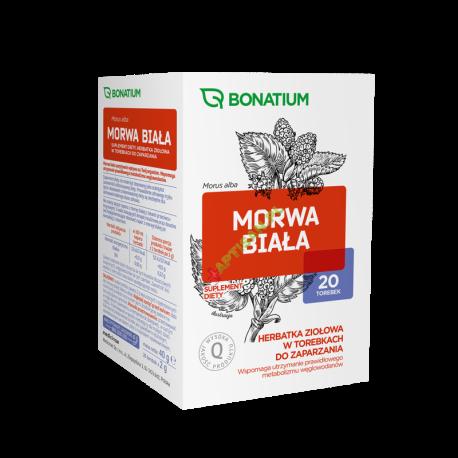 Bonatium Morwa Biała * herbata ziołowa* 20 saszetek