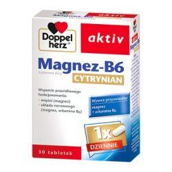 Doppelherz Aktiv * cytrynian magnezu B6 * 30 tabletek