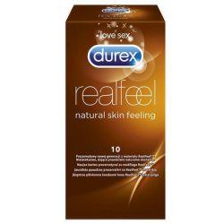 Durex RealFeel * prezerwatywy * 10 sztuk