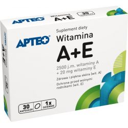 APTEO - Witamina A + E * 30 kapsułek